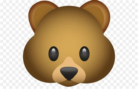 Bear Emoji Emoticon Clip Art