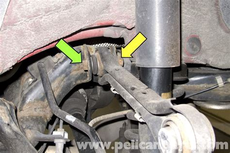 bmw  rear upper control arm replacement    pelican parts diy maintenance article