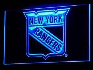 New York Rangers LED Neon Sign