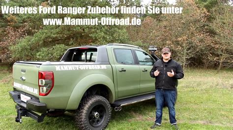 Mammut Offroad Ranger Garage by Ford Ranger 2016 Sportauspuff Sidepipes Tuning