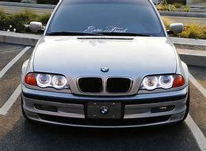 Bmw Switchback White  Amber Headlight Led Angel Eye Halo