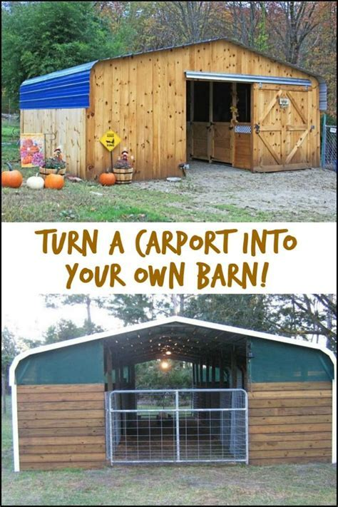 There are other ways of using a carport! Like using it as