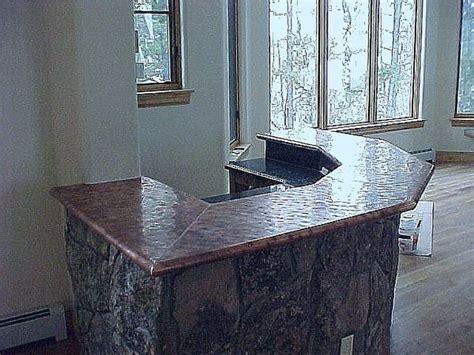 copper top bar hammered copper bar top price 50