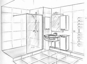 plan salle de bain avec wc kirafes With plan salle de bain avec wc
