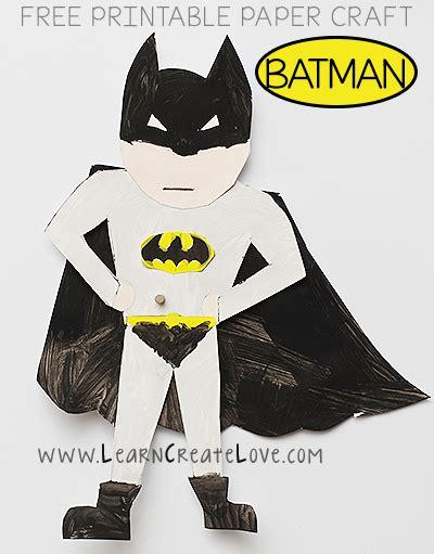 printable batman craft 450 | batman
