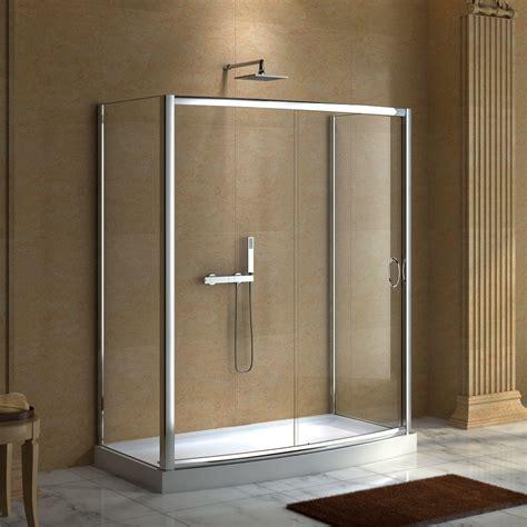 "59"" X 30"" Karev Shower Enclosure  Enclosures, Doors, And. Narrow Bathtub. Dining Room Buffet Cabinet. Vanity Sink. Kitchen Vent Hoods. Kitchencabinets. Chicken Coop Interior. Grey Granite Countertops. Contemporary Console Table"