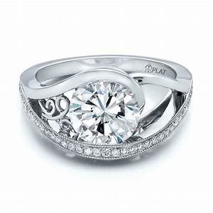 Custom jewelry engagement rings bellevue seattle joseph for Custom diamond wedding rings