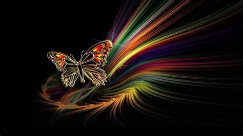 Beautiful 3d Wallpaper by Colorful Butterfly Hd Wallpapers Real Artistic