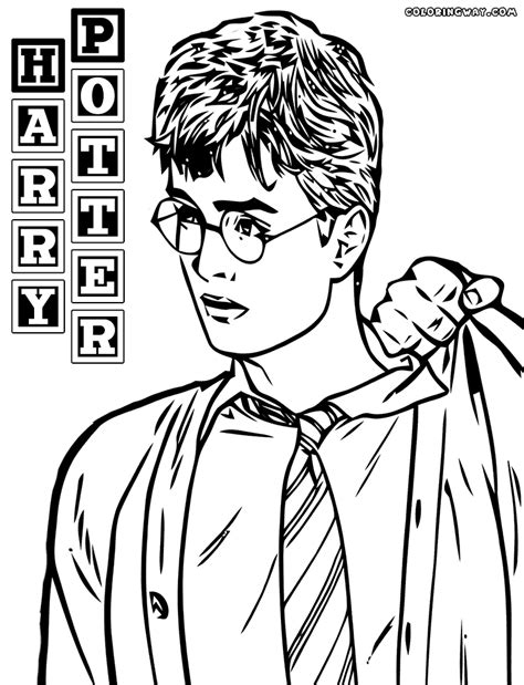 Harry Potter coloring pages Coloring pages to download