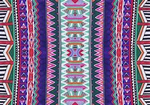 Aztec native navajo geometric motif african vibrant ...