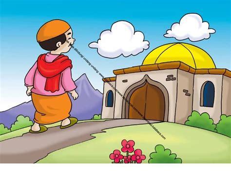 gambar 64 pergi shalat lima waktu berjamaah ke masjid