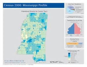 Mississippi State Population Map