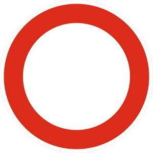 durchfahrt verboten schild durchfahrt verboten verkehrsschild verkehrszeichen schilder stra 223 enverkehr ebay