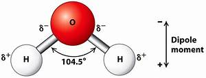 The Shape Of The Water Molecule H2o Is