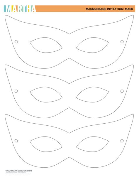 mask template for masquerade mask template beepmunk