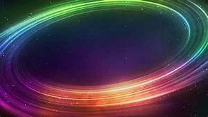 Rainbow Colored Orbit Among the Stars | SPACE