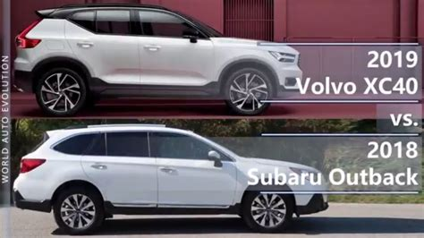 volvo xc   subaru outback technical