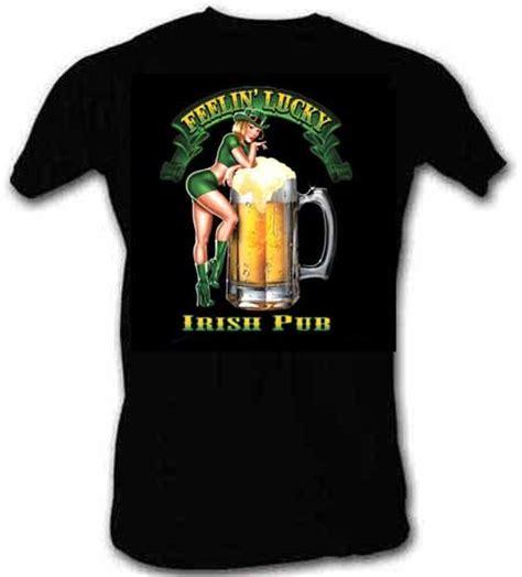 tees you are lucky pub feelin lucky st patricks day t shirt ebay