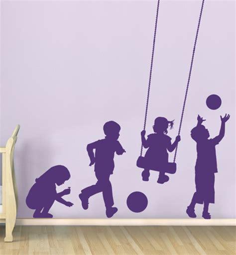 kids  play wall decal sticker