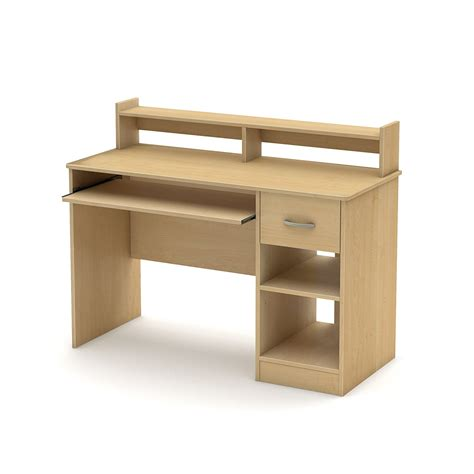 desk with drawers and shelves computer desk with sliding keyboard tray book shelf hutch