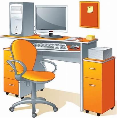Office Furniture Vector Vectors Eps Elements