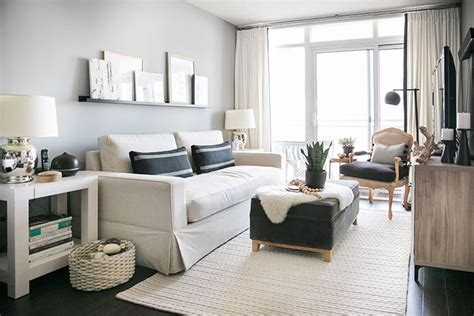 Ideas For Living Room Condo by A Toronto Condo Packed With Stylish Small Space Solutions