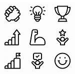 Icons Icon Psychology Objective Motivation Career Symbol