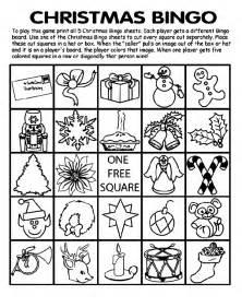 Christmas Bingo Board No 3 crayola com au