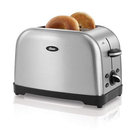 2 Slice Toaster by Oster Tssttrwf2s Brushed Stainless Steel 2