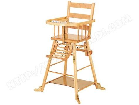 chaise haute combelle chaise transformable naturel 16 pas cher ubaldi