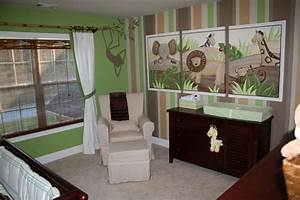 Baby nursery decorative wall painting designs for bedrooms for Baby boy nurseries ideas