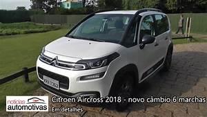 Citroen Aircross 2018 Com Novo C U00e2mbio Autom U00e1tico