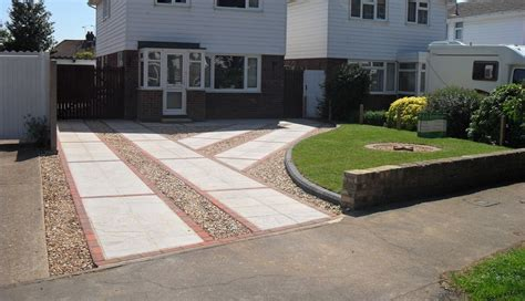 front drive designs front garden ideas with driveway pdf