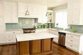 Tile Kitchen Backsplash Ideas With White Cabinets  Home Improvement Inspiration