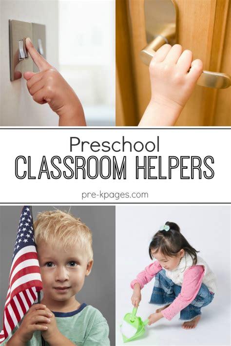 classroom helpers chart in preschool 524 | preschool classroom helpers