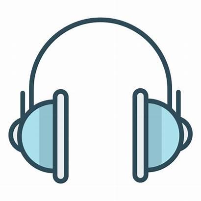Icon Headphones Audio Icons Office Helmets Sound