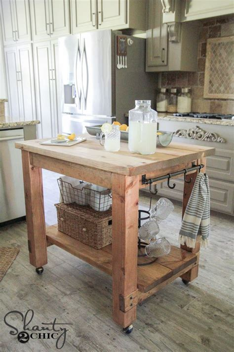 kitchen mobile island diy kitchen island free plans mobile kitchen island