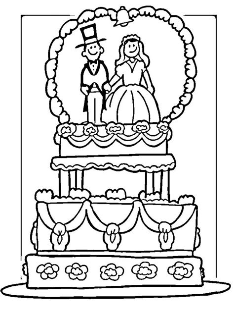 wedding coloring book wedding coloring pages 4 coloringpagehub