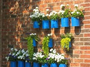 Blumentopf Für Die Wand : 90 deko ideen zum selbermachen f r sommerliche stimmung im garten garten deko blumentopf ~ Eleganceandgraceweddings.com Haus und Dekorationen