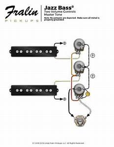 Wired Fender J Bass Schematic