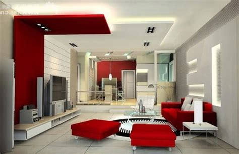Collection Red Black And White Living Room Decorating