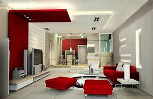 interior fancy image of red black and white living room With red black and white living room decorating ideas