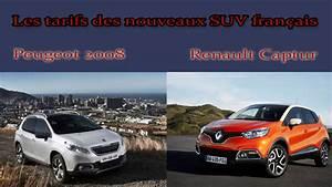 Renault Captur Initiale Paris Finitions Disponibles : les tarifs des nouveaux suv fran ais peugeot 2008 et renault captur ~ Medecine-chirurgie-esthetiques.com Avis de Voitures