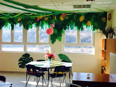 charming classroom island jungle theme jungle