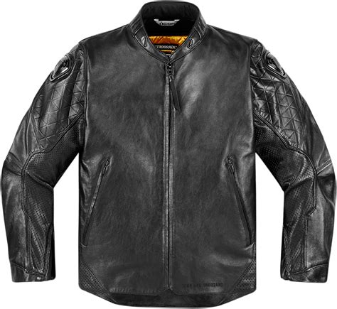 motorcycle riding leathers mens icon 1000 black leather retrograde motorcycle riding