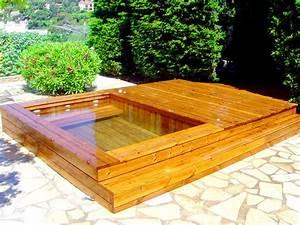 Jacuzzi En Bois : fabricant de piscine en bois et jacuzzi spa toulon ~ Nature-et-papiers.com Idées de Décoration