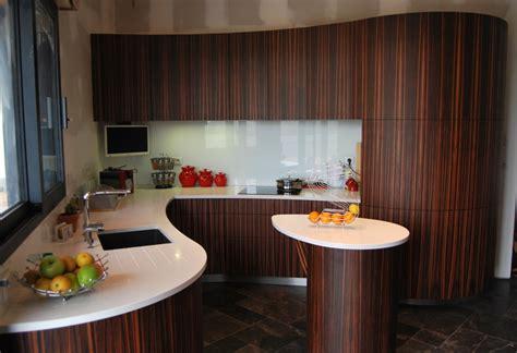 atelier de cuisine en gascogne cuisine courbe en ébène de macassar atelier de l 39 ebène