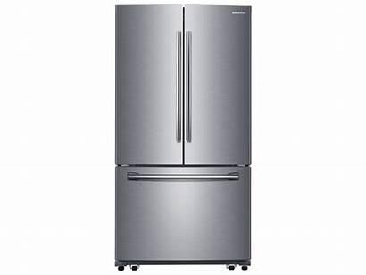 Refrigerator Samsung Door French Ice Maker Cu