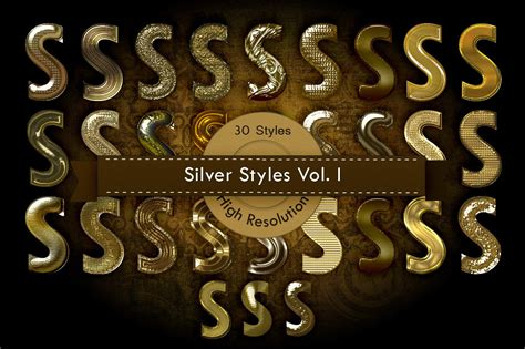 gold photoshop layer styles photoshop add ons creative