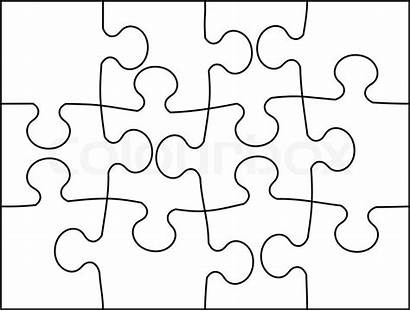Puzzle Vektor Mosaic Mosaik Hintergrund Colourbox